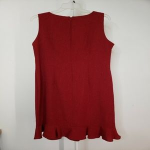 Danny & Nicole Dresses - Danny & Nicole Woman Sleeveless Red Dress Size 16